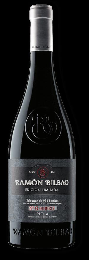 Vino de Edición Limitada - Ramón Bilbao